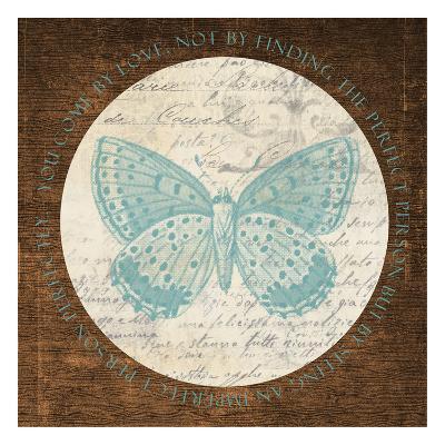 Love Butterfly 2-Taylor Greene-Art Print