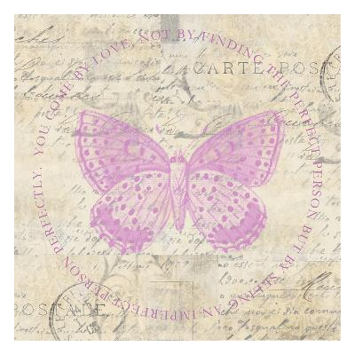 Love Butterfly Paper-Taylor Greene-Art Print