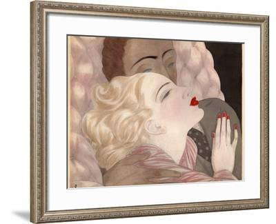 Love by Le Pape-Vintage Apple Collection-Framed Giclee Print