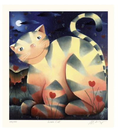 Love Cat-Mackenzie Thorpe-Premium Edition