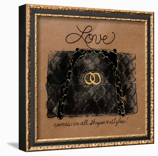 Love Comes in All Shapes-Bella Dos Santos-Framed Art Print