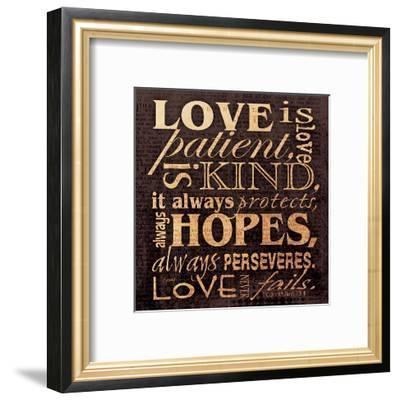 Love Corinthians-Carole Stevens-Framed Art Print