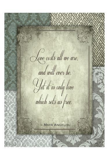 Love Costs-Melody Hogan-Art Print