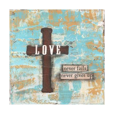 Love Cross-Cassandra Cushman-Art Print