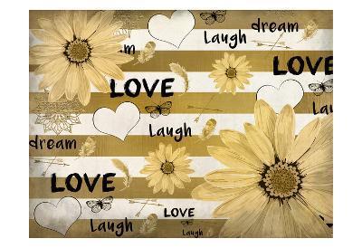 Love Dream Laugh-Kimberly Allen-Art Print