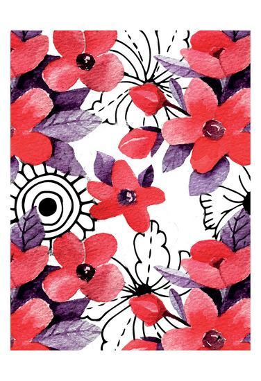 Love Floral-Kimberly Allen-Art Print