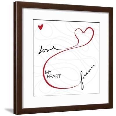 Love Forever-OnRei-Framed Art Print