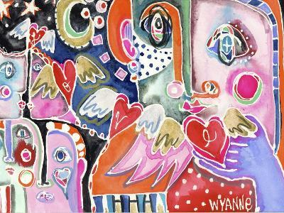 Love from Far and Wide-Wyanne-Giclee Print