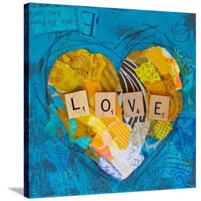 Love Heart--Stretched Canvas Print