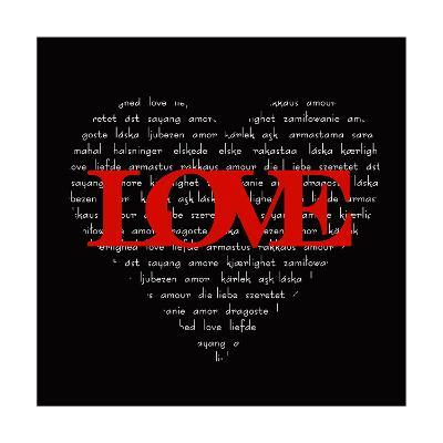 Love Heart-Anna Quach-Art Print