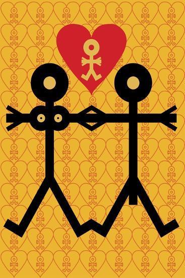 Love Icon, 2005- Thisisnotme-Giclee Print