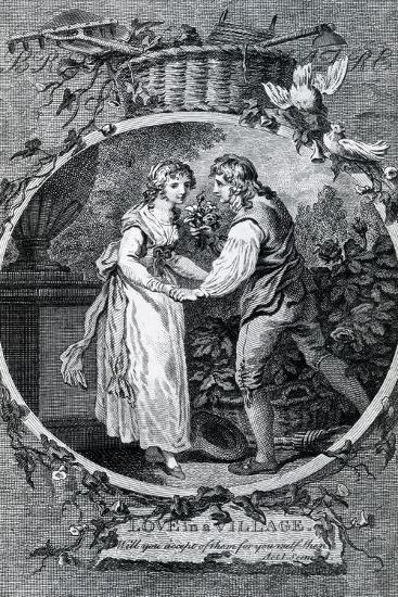 Love in a Village, 1791-Francis Wheatley-Giclee Print