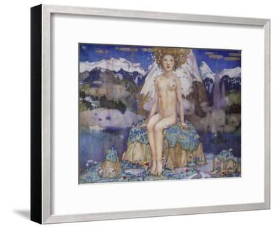 Love in the Alps-Edward Reginald Frampton-Framed Giclee Print