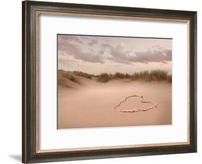 Love in the Dunes-Ian Winstanley-Framed Giclee Print
