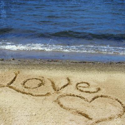 Love in the Sand-Kimberly Glover-Photographic Print