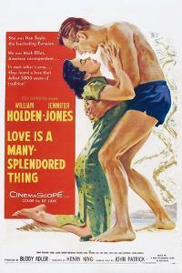 Love Is a Many-Splendored Thing, from Left, Jennifer Jones, William Holden, 1955