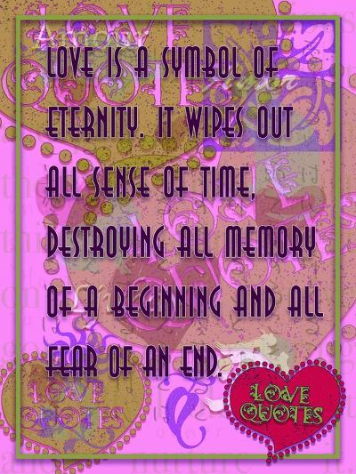 Love Is a Symbol of Eternity-Cathy Cute-Giclee Print