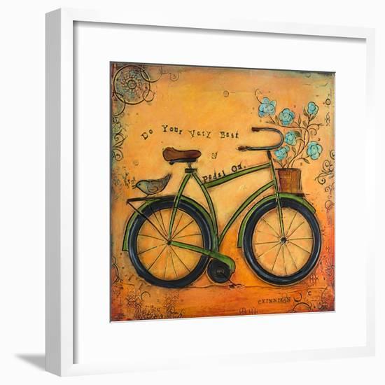 Love Is Always the Answer I-Carolyn Kinnison-Framed Art Print