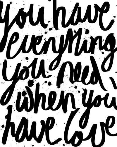 Love is Everything-Sasha Blake-Giclee Print