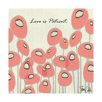 Love Is Patient Poppies-Shanni Welsh-Art Print