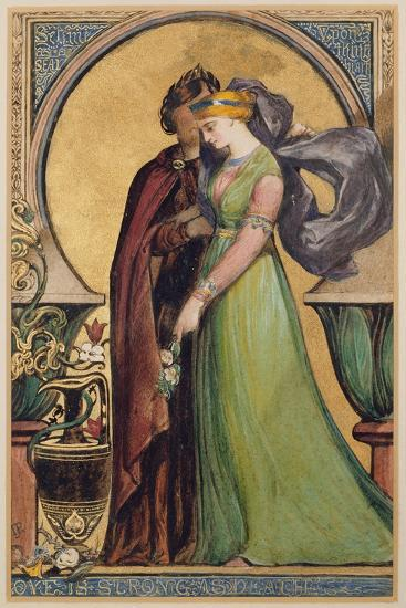 Love Is Strong as Death, 1894-John Jewell Penstone-Giclee Print