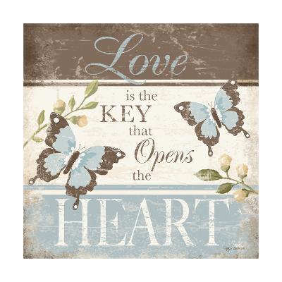 Love Is the Key-Kathy Middlebrook-Art Print