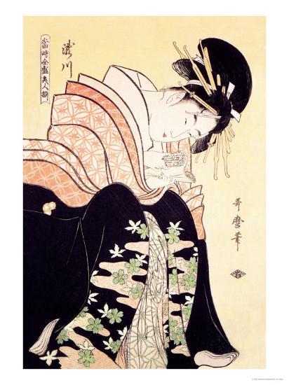 Love Letter-Kitagawa Utamaro-Art Print