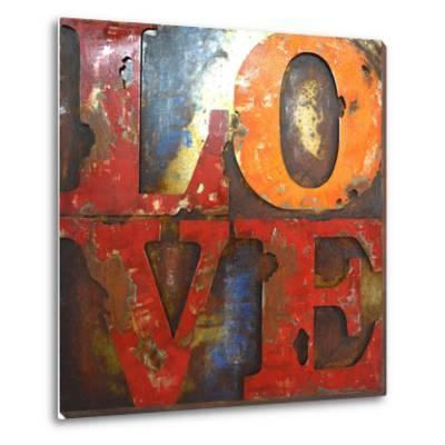 Love Letters I - Dimensional Metal Wall Art
