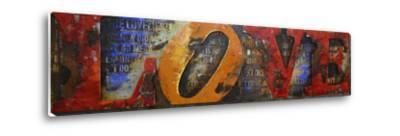 Love Letters II - Dimensional Metal Wall Art