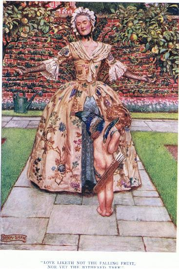 Love Liketh Not the Falling Fruit, Nor Yet the Withered Tree, 1928-John Byam Liston Shaw-Giclee Print