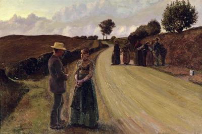 Love Making in the Evening, 1889-91-Fritz Syberg-Giclee Print