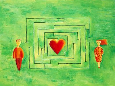Love Maze, 2004-Julie Nicholls-Giclee Print