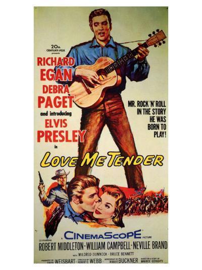 Love Me Tender, 1956--Art Print