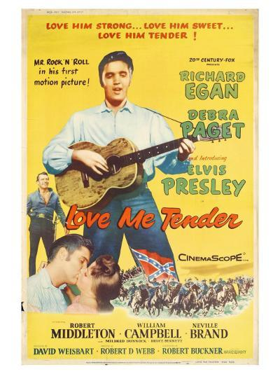 Love Me Tender, 1956--Art Print