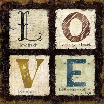 Love Much-Carol Robinson-Art Print