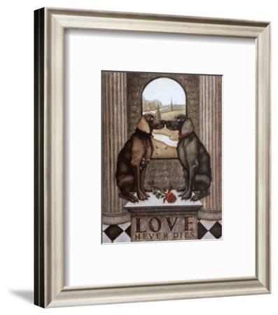 Love Never Dies-Steven Lamb-Framed Art Print