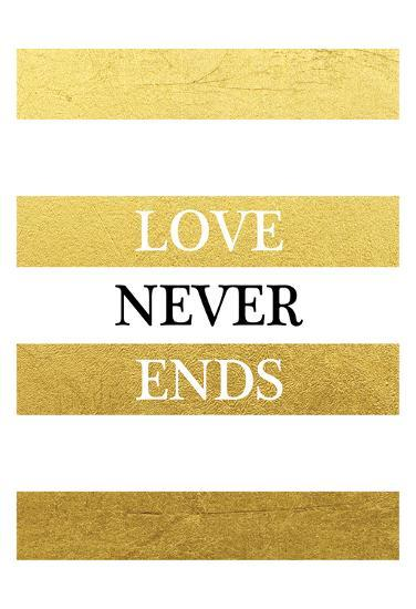 Love Never Ends-Victoria Brown-Art Print