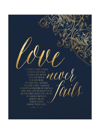 Love Never Fails-Tammy Apple-Art Print