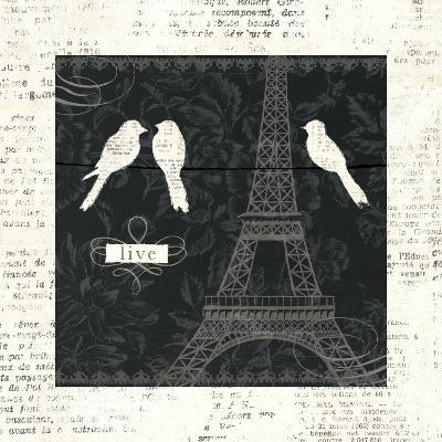 Love Paris I-Emily Adams-Art Print