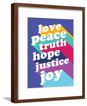 Love, Peace, Truth
