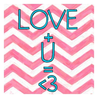 Love Plus (ver 2)-Taylor Greene-Art Print