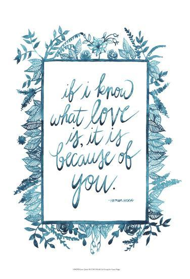 Love Quote II-Grace Popp-Art Print