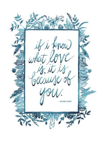 Love Quote II-Grace Popp-Art Print