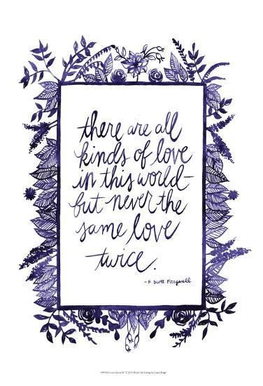 Love Quote IV-Grace Popp-Art Print