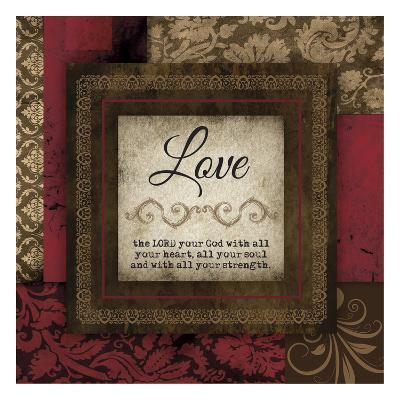 Love Red-Melody Hogan-Art Print