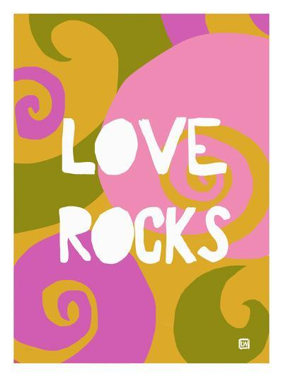 Love rocks-Lisa Weedn-Giclee Print