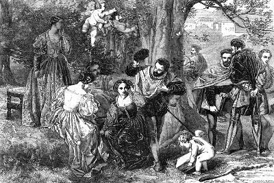 Love's Labour's Lost, 1856-Orrin Smith-Giclee Print