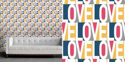 Love Self-Adhesive Wallpaper by Bobby Berk