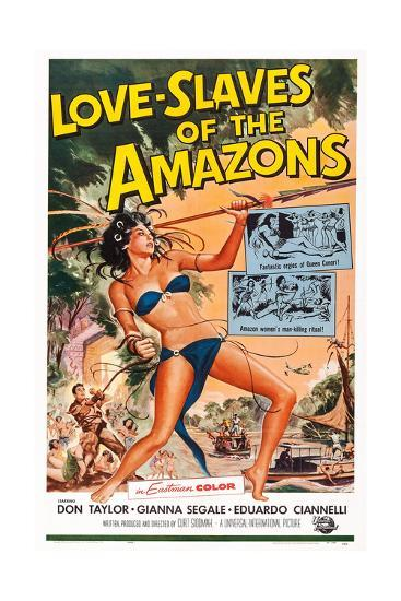 Love Slaves of the Amazons--Giclee Print