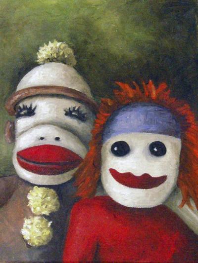 Love Socks-Leah Saulnier-Giclee Print